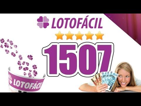Lotofacil concurso 1509 | Doovi