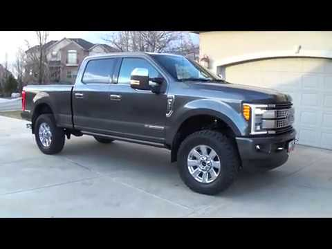2.5 Inch ReadyLift Level on 2017 Ford Super Duty F350 Final Numbers