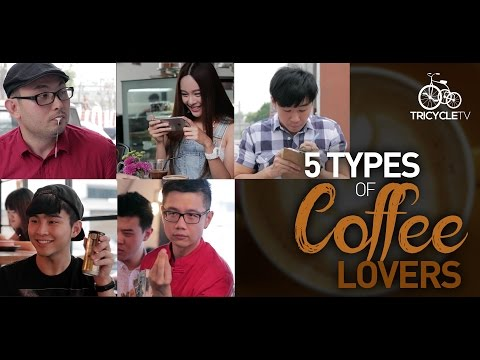 5 Types of Coffee Lovers