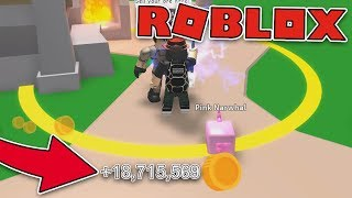 DON'T BE TRUE , 18 MILLION IN A SCAVATED ALONE !!! - Roblox Mining Simulator #10