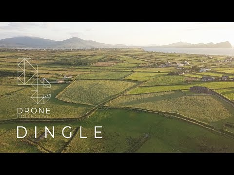 Sunny Dingle - Dingle, Ireland - Drone