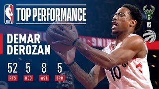 DeMar DeRozan, First Player in NBA History to Score 50+ on New Year