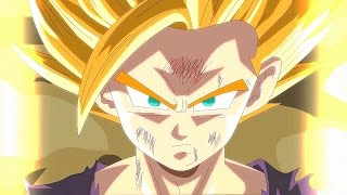 dbz fan animation gohan goes ssj2 for the 1st time gohan angers remix