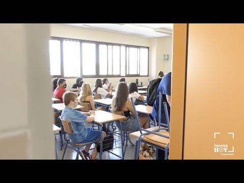 VÍDEO: La difícil vuelta a las clases en los institutos de Lucena en los tiempos del COVID-19