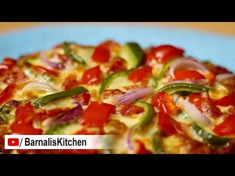 How to make Dominos Country Special Veg Pizza – Veg Pizza Recipe