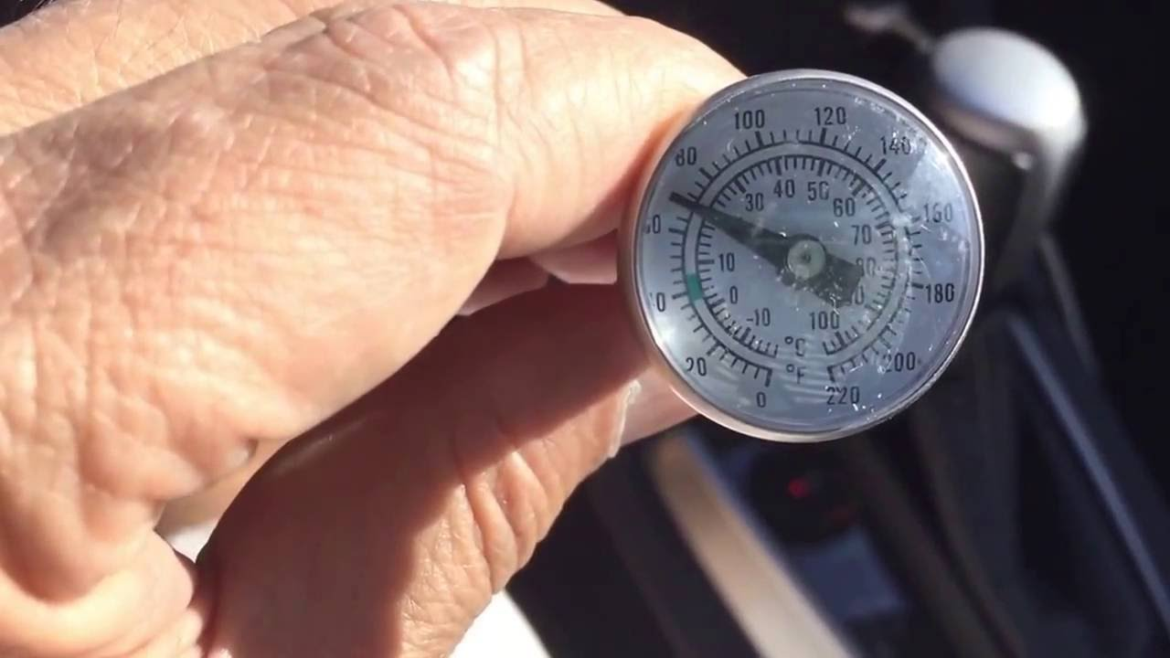 How to Check Car AC Vent Outlet Temperature Part #1