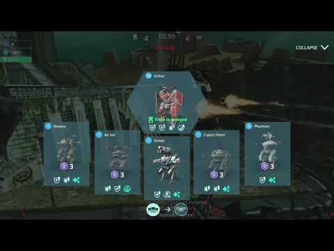 I made a big comeback😆(War Robots)FFA