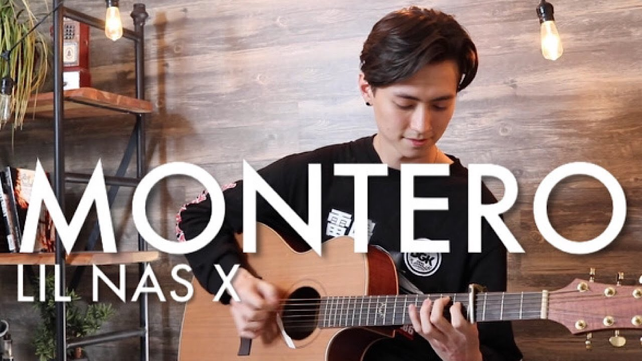 MONTERO (Call Me By Your Name) - Lil Nas X - Cover (Fingerstyle Guitar)