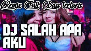 """Cover images Asikin aja """"DJ SALAH APA AKU""""   REMIX FULL BASS 2019   Emang mantap buat di mobil. 👍☝🙏"""