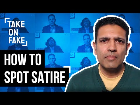 How Can You Tell Satire from Misinformation?