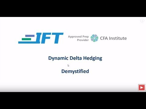 Level II CFA: Dynamic Delta Hedging Demystified