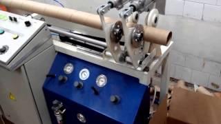 Станок для производства картонной втулки, трубки. ИП Логвин.