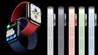 Apple Watch Series 6 & SE, iPad Air 2020 & 8th Gen Released!