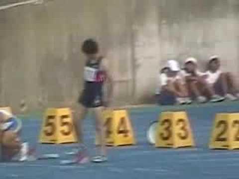 北京オリンピック壮行 100m IN KAKOGAWA