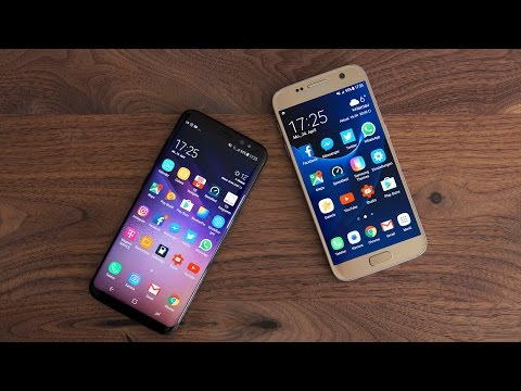 Samsung Galaxy S8 vs. Galaxy S7 (Deutsch) | SwagTab