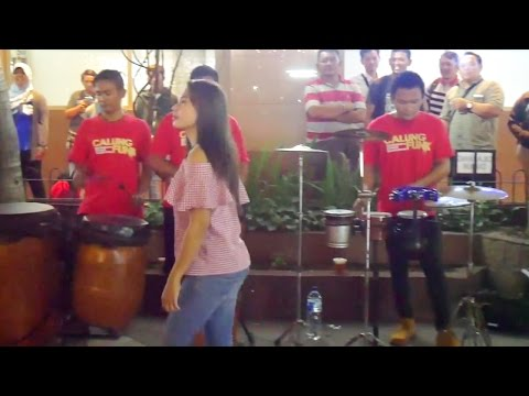 ANOMAN OBONG KOPLO - Skill Musiknya Makin Jago Bikin Goyang (Pengamen Angklung Jogja) Calung Funk