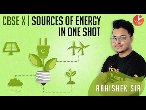 Sources Of Energy In 1 Shot Class 10 | CBSE Physics | Science Chapter 14 NCERT @Vedantu Class 9 & 10