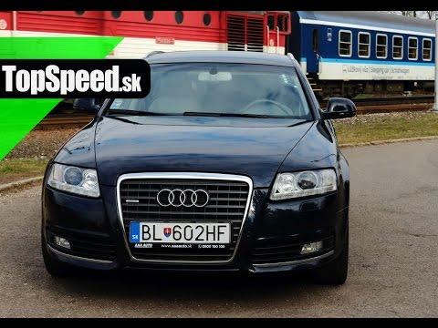 Jazdenka Audi A6 3.gener cie 2004 2011 TopSpeed.sk