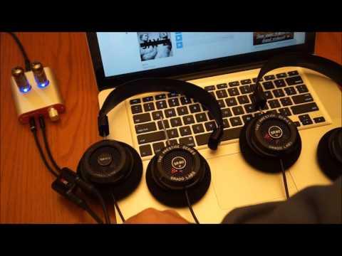Grado SR80e versus SR60 headphones - quick compare with uncompressed audio