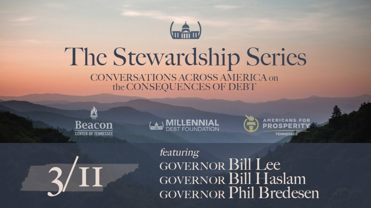 Stewardship Series Comes to Tennessee Featuring Governors Lee, Haslam and Bredesen