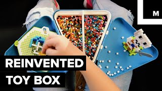 Reinvented toy box