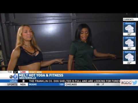 FOX 28 Live at Melt Hot Yoga & Fitness