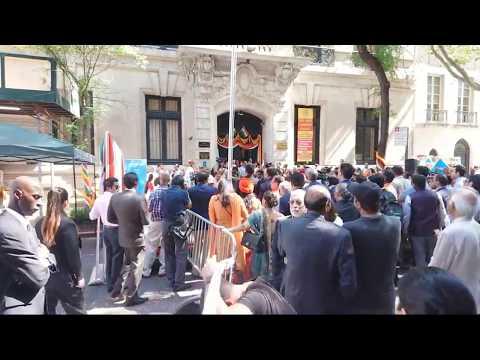 Indian Consulate New York City 15th AUGUST 2019