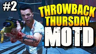 "PART 2 Throwback Thursday ""MOB OF THE DEAD"" 2 Box Challenge (Black Ops 2 Zombies)"