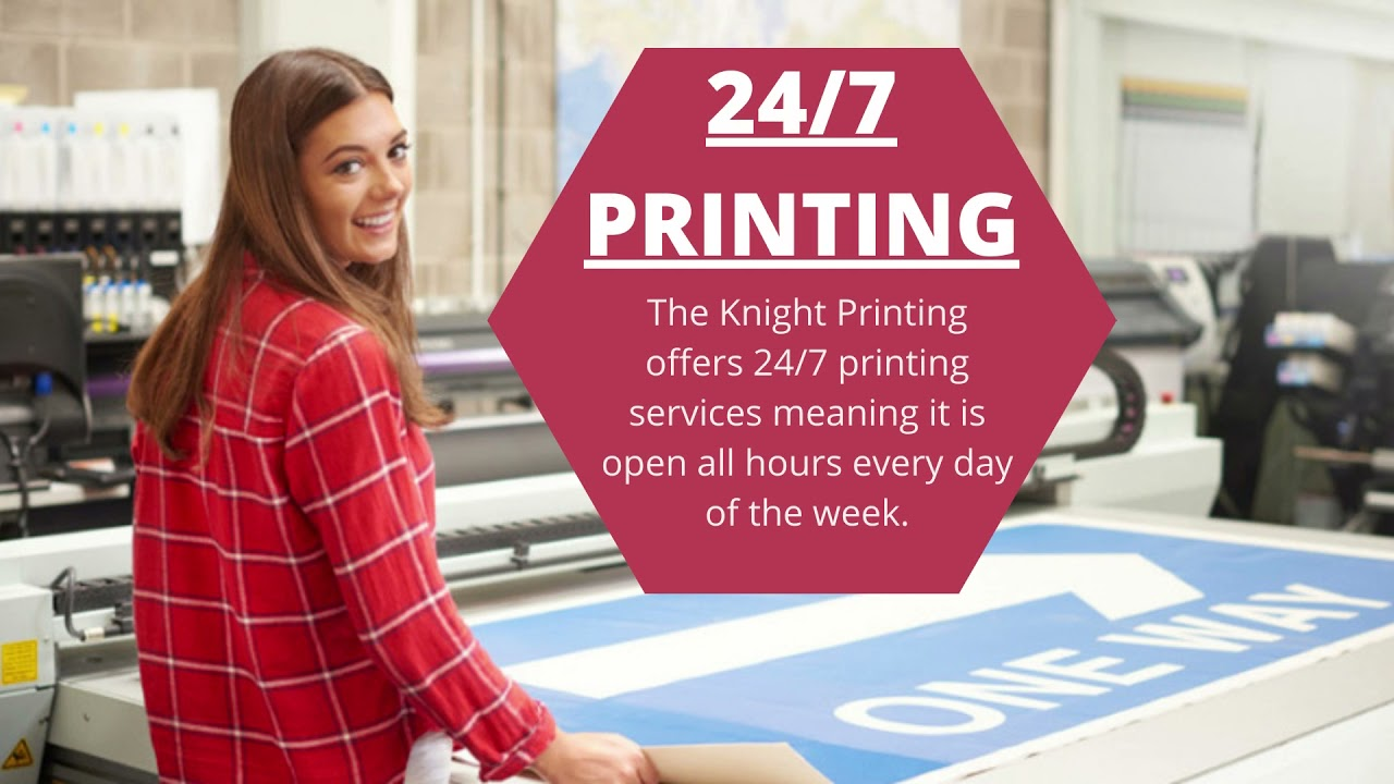 OPEN 24/7 TO DELIVER A RANGE OF EXPERIENCED PRINTING & BINDING SERVICES