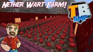 Nether Wart Farm! - Truly Bedrock SMP Season 2! - Episode 14