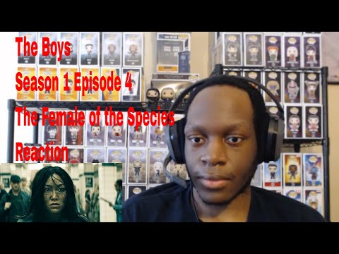 The Boys Season 1 Episode 4 The Female of the Species Reaction