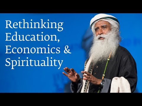 Rethinking Education, Economics and Spirituality