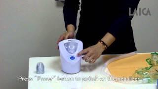 Ultrasonic nebulizer (MD6026) - How to use