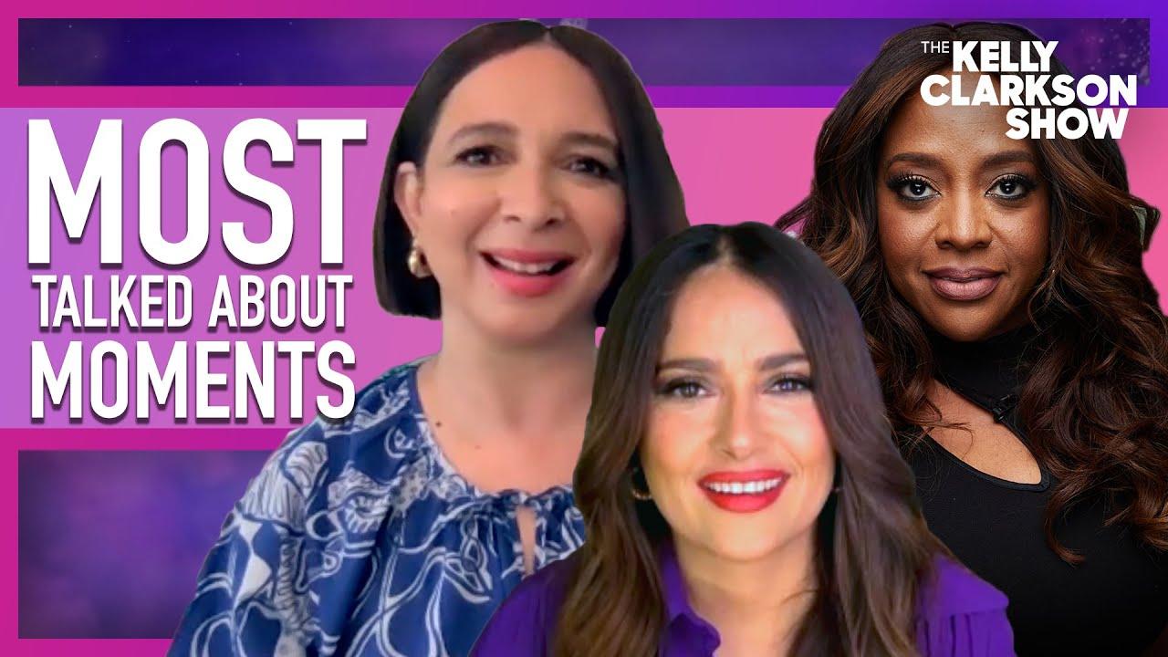 Most Talked About Moments   Salma Hayek, Maya Rudolph, Sherri Shepherd