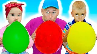 Belajar Mengenal Nama dan Suara -Comptines Et Chansons   À Bébé Chanson -Video Edukasi Anak #374