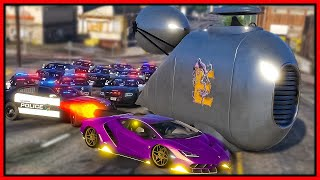 GTA 5 Roleplay - CUSTOM ROCKET CARS TROLLING COPS | RedlineRP