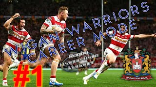 Rugby League Team Manager 2015: Wigan Warriors Career Mode #1
