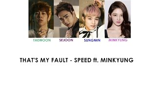 That's my fault (슬픈약속) - SPEED (스피드) ft. MINKYUNG (DAVICHI) [Han|Rom|Eng Lyirics] Resimi