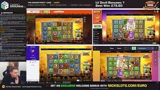 Casino Slots Live - 24/10/19 *QUADS!*