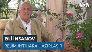 """Əli İnsanov: """"Rejim intihara hazırlaşır"""""""