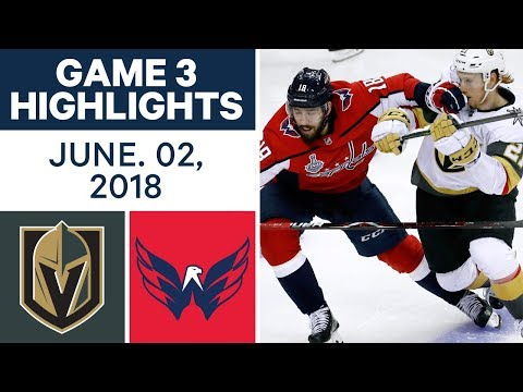 NHL Highlights | Golden Knights vs Capitals, Game 3 - June 2, 2018