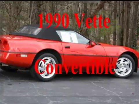 2016 Corvette For Sale >> 1990 Corvette Convertible - YouTube