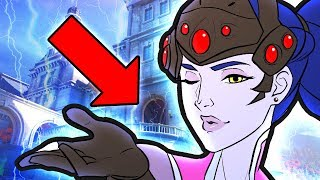 NEW OVERWATCH MAP Lore - Widowmaker's Chateau Guillard