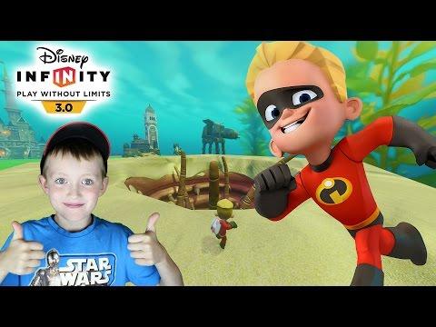 Sarlacc Jump With Dash Disney Infinity 3.0 Toy Box Fun