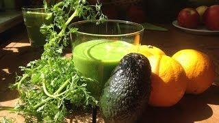 Avocado Orange Cilantro Smoothie ~ Take 3