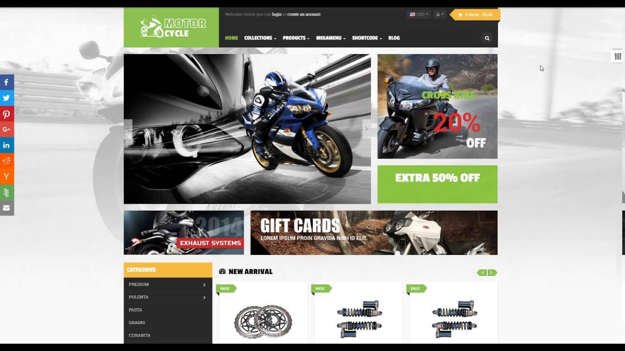 Ap Motor Store Shopify Theme - apollotheme com