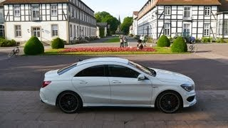 Mercedes CLA 45 AMG, first drive