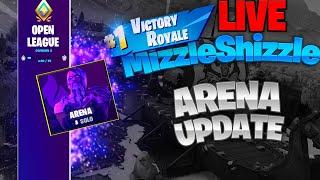 🔴 Fortnite Arena Mode Update Live // Champion League Soon! // 450+ Wins! (Fortnite Battle Royale)