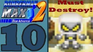 Bomberman Max 2 Blue Advance [Part 10] Evil Bomberman Clone!
