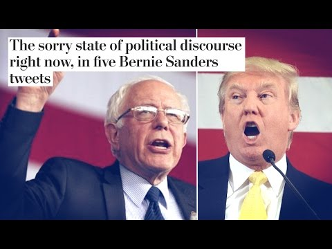 Washington Post Wants Bernie Sanders to Stop Calling Out Trump's Lies